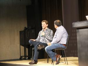Мат Мюленвег говори на Wordcamp Europe 2014